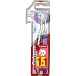 Brosse à dents SlimSoft ultra compact souple