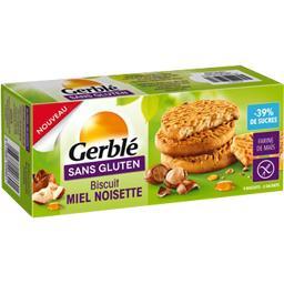 Sans Gluten - Biscuit miel noisette