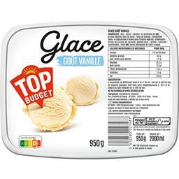Glace goût vanille