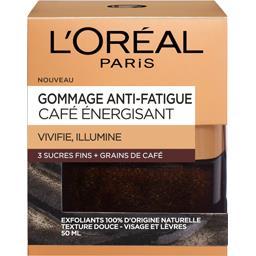 Gommage anti-fatigue Café Energisant