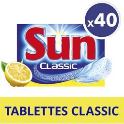 Classic - Tablettes lave-vaisselle citron