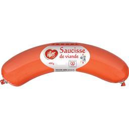 Iller Saucisse de viande la saucisse 400 g