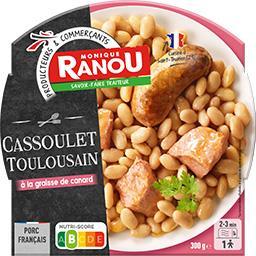 Cassoulet toulousain à la graisse de canard