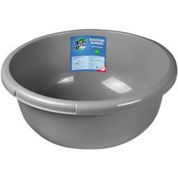 Bassine ronde grise 10,5 L