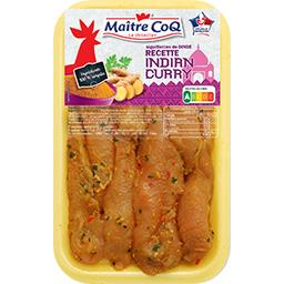 Aiguillettes de dinde recette Indian Curry