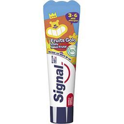 Dentifrice Fruits Golo pour enfants de 3-6 ans