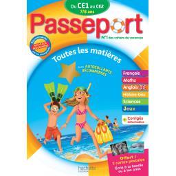 Passeport du ce 1 au ce 2 - 7/8 ans