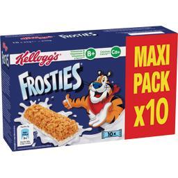 Kellogg's Barre de pétales de maïs au lait les 10 barres de 25 g - Maxi pack