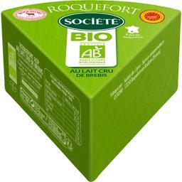 Société Roquefort BIO le fromage de 220 g