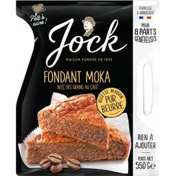Fondant Moka avec des grains au café
