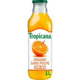 Pure Premium - Jus d'oranges du Brésil sans pulpe