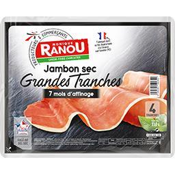 Jambon sec Grandes Tranches