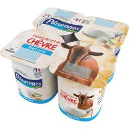 Yaourt au lait de chèvre nature
