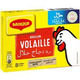 Bouillon de volaille halal