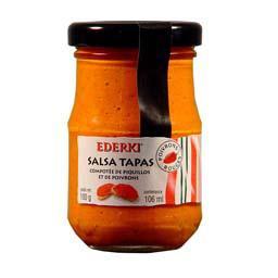 Salsa Tapas compotée de Piquillos et de poivrons