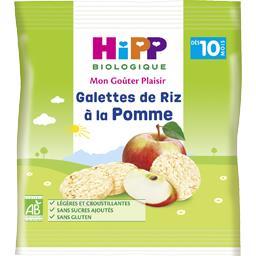 Galettes de riz à la pomme BIO, dès 10 mois