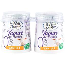Yaourt de brebis 0% vanille