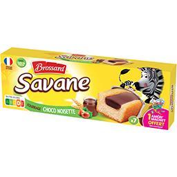 Savane - Gâteaux fourrage cacaoté noisette