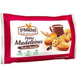 Petites madeleines pépites chocolat