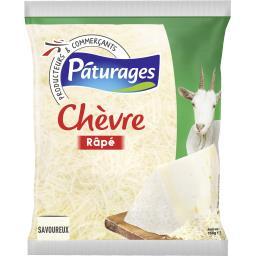 Pâturages Râpé de chèvre le sachet de 150 g