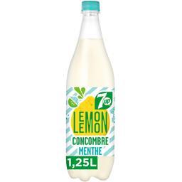 Citronnade gazeuse saveur concombre menthe