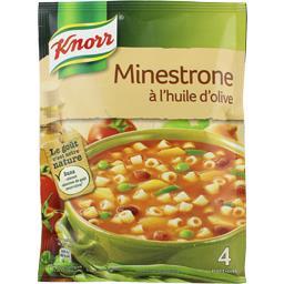 Soupe Minestrone à l'huile d'olive