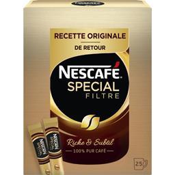 Spécial Filtre - Sticks de café soluble
