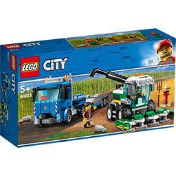 City - Le transport de l'ensileuse