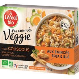 Les Cuisinés Véggie façon couscous émincés soja & bl...