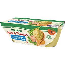 Les Idées de Maman - Petits légumes saumon du Pacifi...
