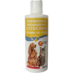 Shampooing anti-parasite Tétraméthrine chiens & chat...