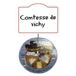 Comtesse de vichy au lait cru de vache 28% de mg