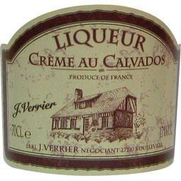 Liqueur crème au Calvados