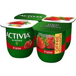 Activia - Lait fermenté fraise