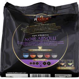 Dosettes de café Noir Absolu pur arabica