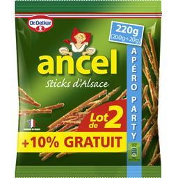 Ancel Sticks d'Alsace le paquets de 200 g