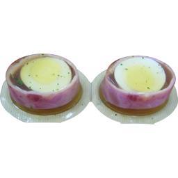 Aspic oeuf jambon X2