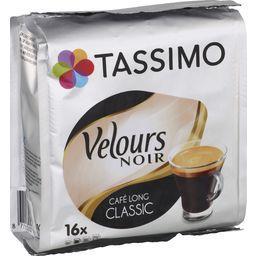 Velours Noir - Capsules de café moulu Long Classic