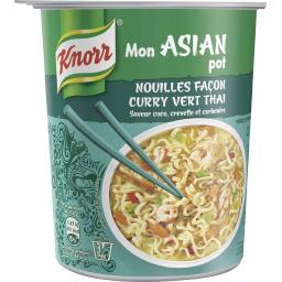Mon Asian Pot - Nouilles façon curry vert thaï