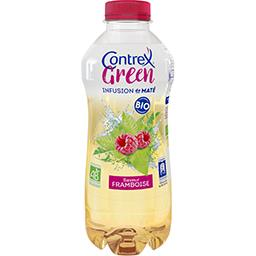 Contrex Green - Boisson infusion de maté saveur framboise BI... la bouteille de 75 cl