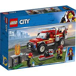 Lego City - Le camion du chef des pompiers la boite