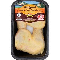 Cuisses de poulet fermier du Périgord jaune LR
