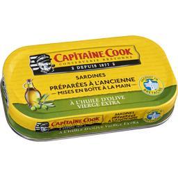 Sardines préparées à l'ancienne à l'huile d'olive