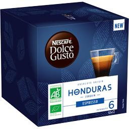 Dolce Gusto - Capsules de café Espresso Honduras BIO