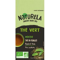 Thé vert menthe thé en feuilles BIO