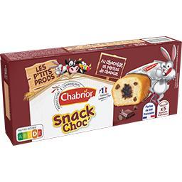 Gâteaux Snack Choc' chocolat et pépites de chocolat