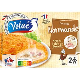 Escalope normande 100% filet de poulet