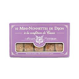 Mini-nonnettes de Dijon à la confiture de cassis