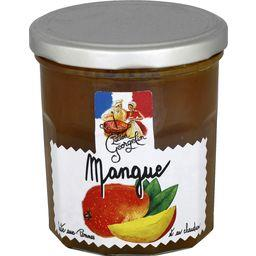 Préparation de fruits : mangue cuite au chaudron