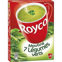 Soupe moulin 7 légumes verts